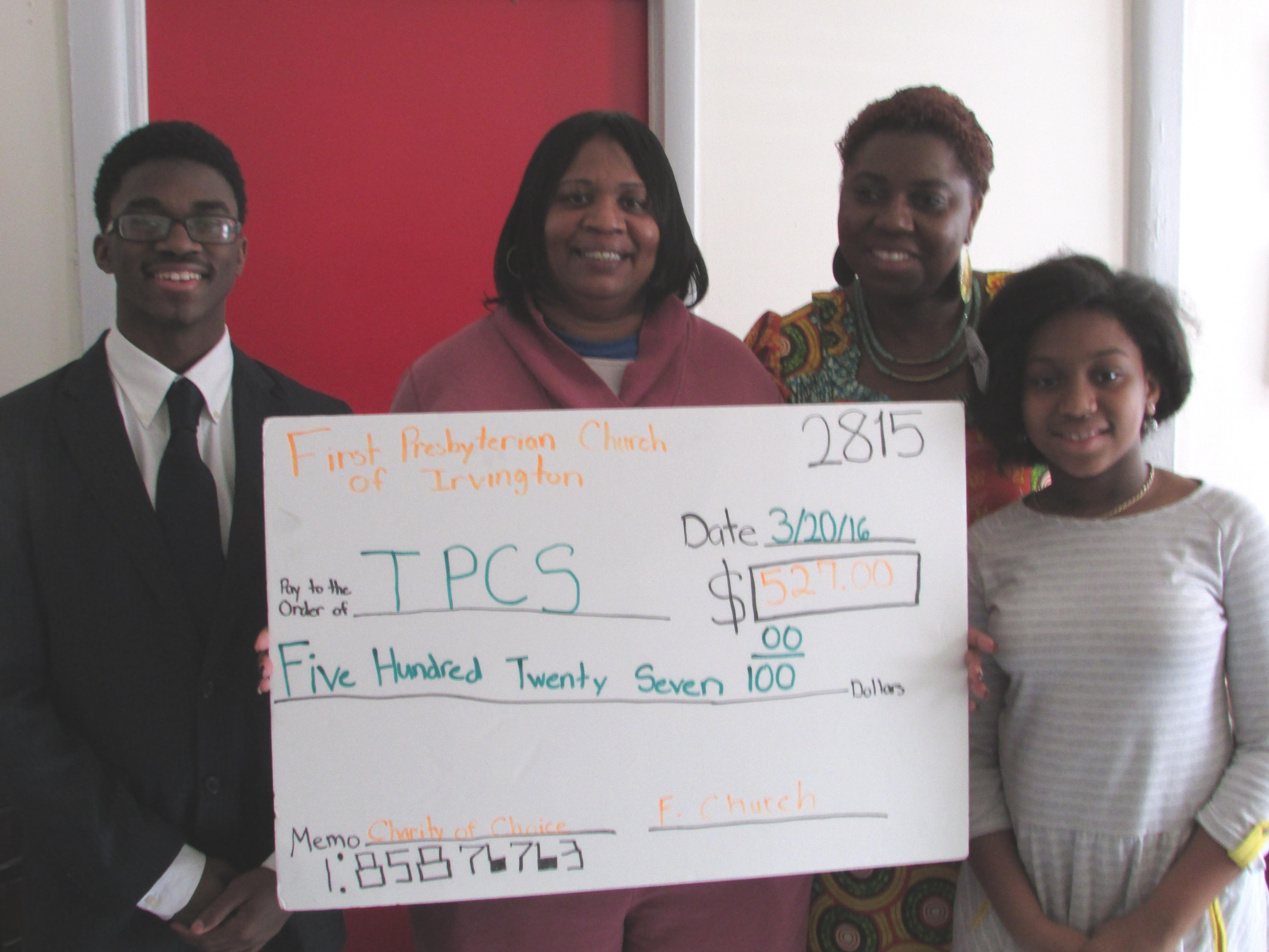 TPCS Check Presentation